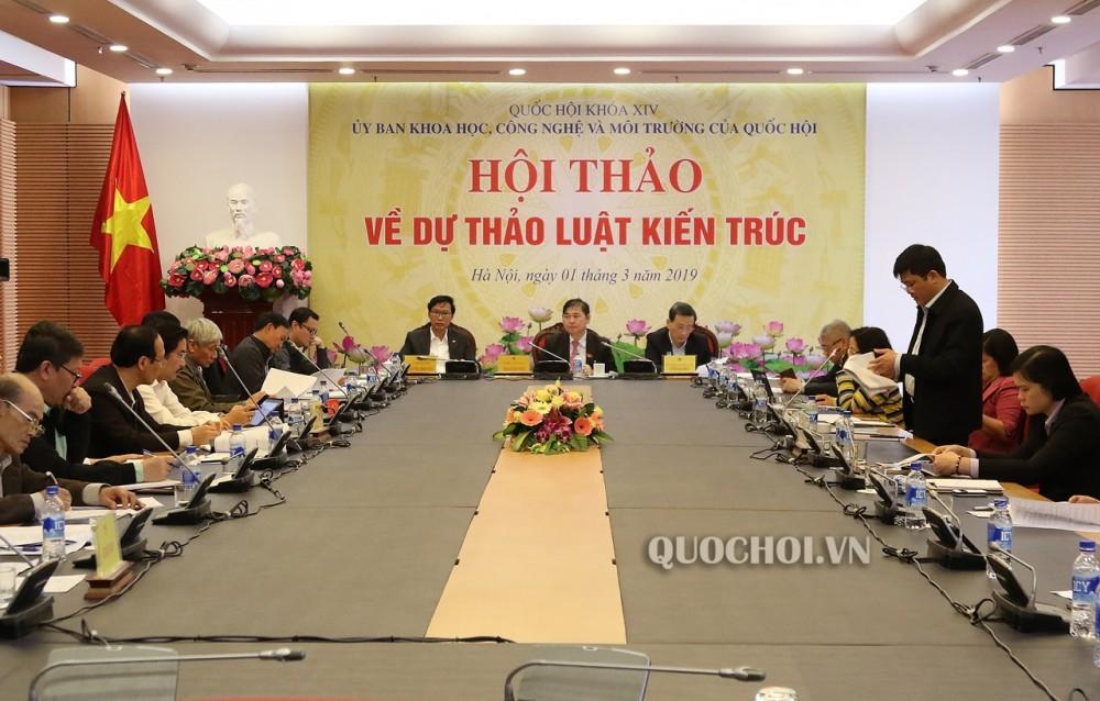 Luat Kien Truc Moi Nhat 2019