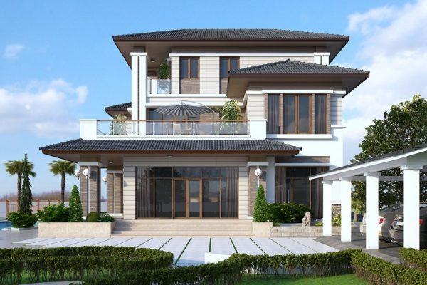 Mau Biet Thu Villa Dep