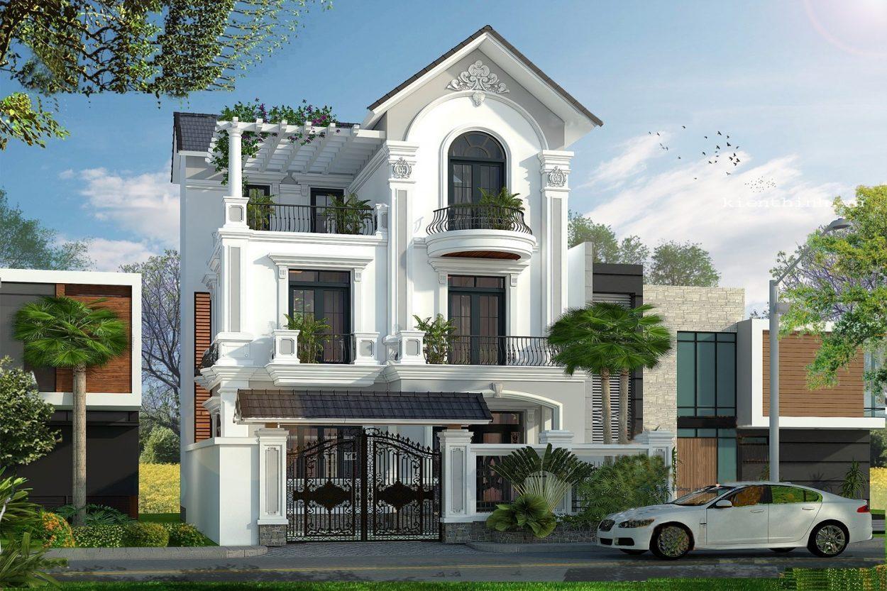 Mau Biet Thu Villa Dep 6
